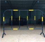 黑黄铁马护栏红白施工铁马护栏