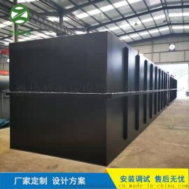 规模化养猪场污水处理设备 气浮一体化设备 竹源定制