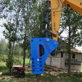 锐猛大型破碎器重型破碎锤厂家直销挖掘机矿山开采