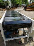斜坡式输送机 全铝型材皮带机 六九重工 铝合金物料