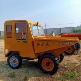 大容量工地柴油运输车/高低速全新设计翻斗车