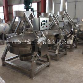 大型蒸汽 猪头肉燃气卤煮夹层锅 商用鸭脖蒸煮锅设备