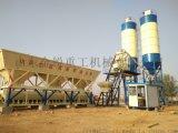 混凝土搅拌站 自动商混大型稳定土拌合站 全站