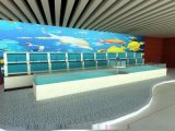 深圳海鲜池设计图、酒店海鲜鱼池制作