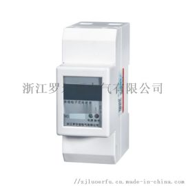 单相卡轨式电表数字显示电表浙江厂家