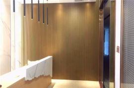 万科城凹凸铝长城板定制规格 麦当劳墙身木纹铝长城板