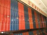 淄博釉面瓦廠家 全瓷波形瓦 釉面陶瓷瓦 流水線生產