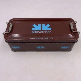 长方形铁扣铁盒 方形金属盒定制 方形礼物盒