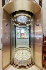湖南家用观光别墅电梯价格  家用别墅电梯私人定制找台湾樱花