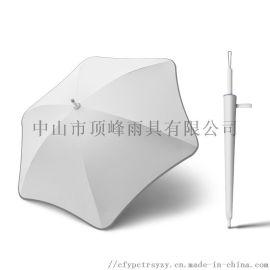 吉林值得信赖广告伞厂家-顶峰定制logo花形广告伞