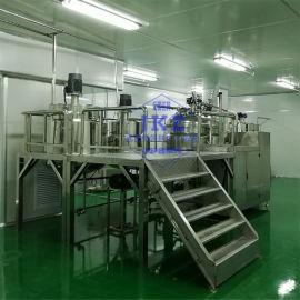沙拉酱真空高剪切乳化设备,沙拉酱乳化设备厂家