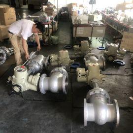 电动法兰铸钢闸阀 Z941H-10C调节型电动闸阀