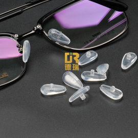 液态硅胶眼镜防滑气囊鼻托模具定制 液态硅胶眼镜配件