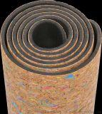 供應天然軟木瑜伽長方形墊