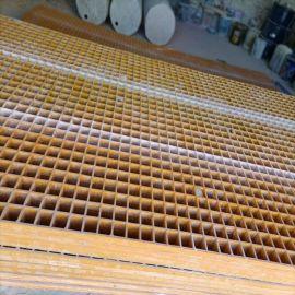 树脂水沟盖板格栅板玻璃钢格栅盖板供应