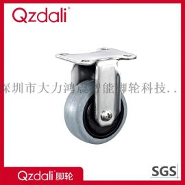 轻型不锈钢TPR脚轮