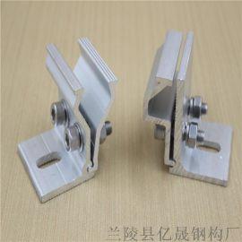 汕头-470彩钢瓦直立锁边抗风光伏转接夹具好用的