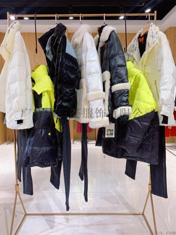 米梵20冬裝品牌庫存貨源/女裝折扣店拿貨