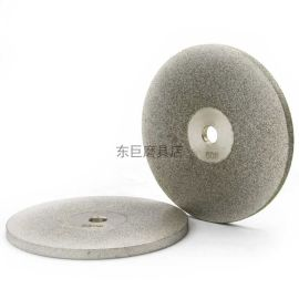 东莞订做单面电镀金刚砂磨盘 粒度均匀 平整度好