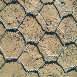 镀锌石笼网卷定制水利防洪格宾网堤坝镀锌石笼网