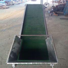 pvc食品输送带设备 铝合金输送机 Ljxy 钢丝