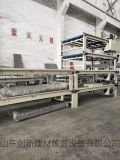 新款环保装饰板生产线设备