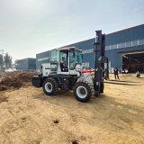 供应5吨越野叉车可以安装铲斗抱夹泥泞路叉车