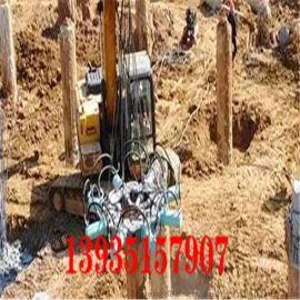 贵州毕节市挖掘机液压破桩机圆桩破桩机价格