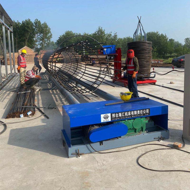 鋼筋加工設備 方便操作型鋼筋籠滾籠機