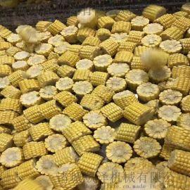 顺泽机械直供速冻玉米切断机 玉米分分段机