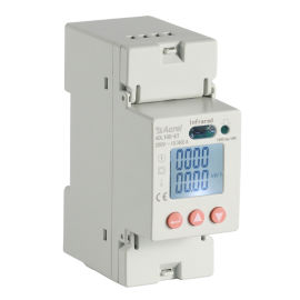 导轨式安装单相电能表DDSD1352,单相电能表