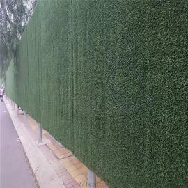 墙体挂的聚乙烯阻燃人造草坪