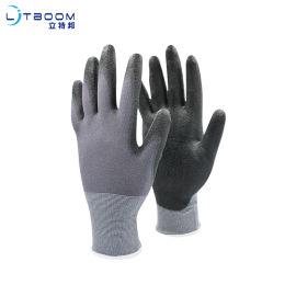 15针尼龙PU手套