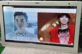 東莞惠華電子49寸液晶顯示透明展示櫃、液晶透明機櫃