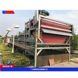 带式压滤污泥脱水机,河沙污水污泥处理设备