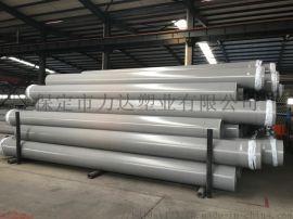 力达塑业PVC-UH管 胶圈一体PVC管材 给水管