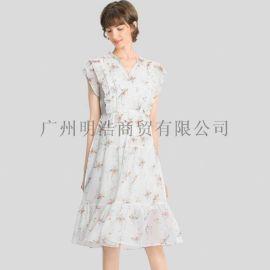 廣州明浩長期供應LiLy折扣女裝一手貨源