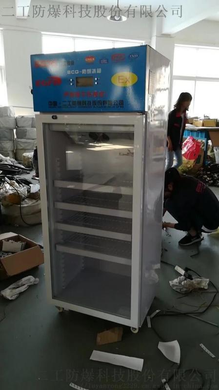 二工防爆存儲冷凍化學試劑風冷式防爆冰箱冷藏櫃