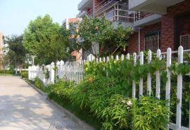 安麦斯PVC围墙护栏 别墅围栏塑钢护栏 花园围栏 隔离栏杆 绿化厂