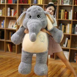 温柔梦象大号大象毛绒公仔玩具