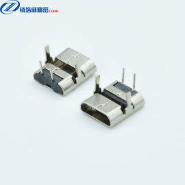 MICRO连接器 母座 2P 90度加长脚