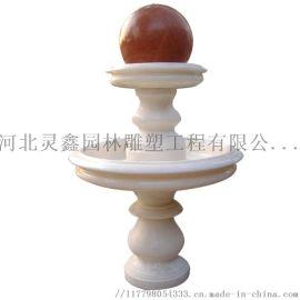 公园景观风水球石雕