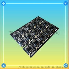 沉金pcb_中雷电子安防监控摄像机PCB
