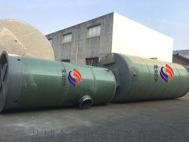 玻璃钢一体化污水泵站受欢迎的污水处理设备