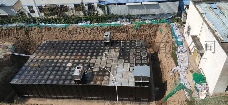 地埋式箱泵一體化項目