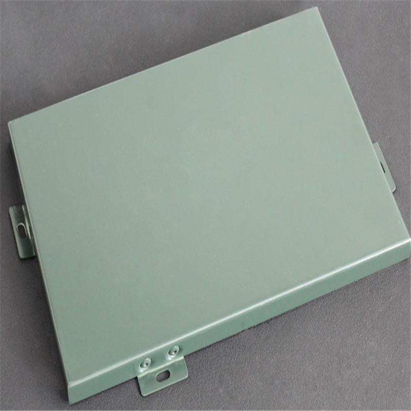 區加油站抗風條形鋁條板-扣板