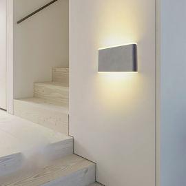 户外方形壁灯 LED双头壁灯 现代墙壁灯 阳台壁灯