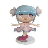 佛山卡通女孩雕塑 动漫人物玻璃钢雕塑