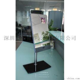 32寸镜面电容触摸屏一体机多媒体自助查询广告机