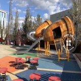 小区幼儿园小博士组合滑梯 大型户外非标儿童游乐设备